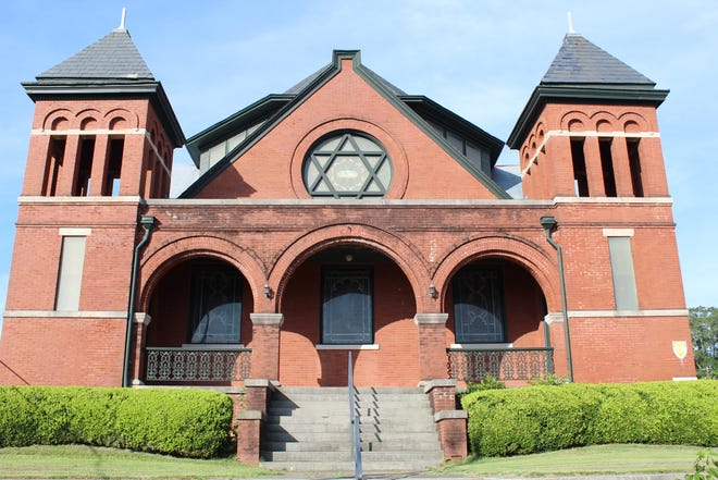 Selma's historic Temple Mishkan Israel was completed in 1899 and is one of Alabama's oldest Jewish houses of worship.