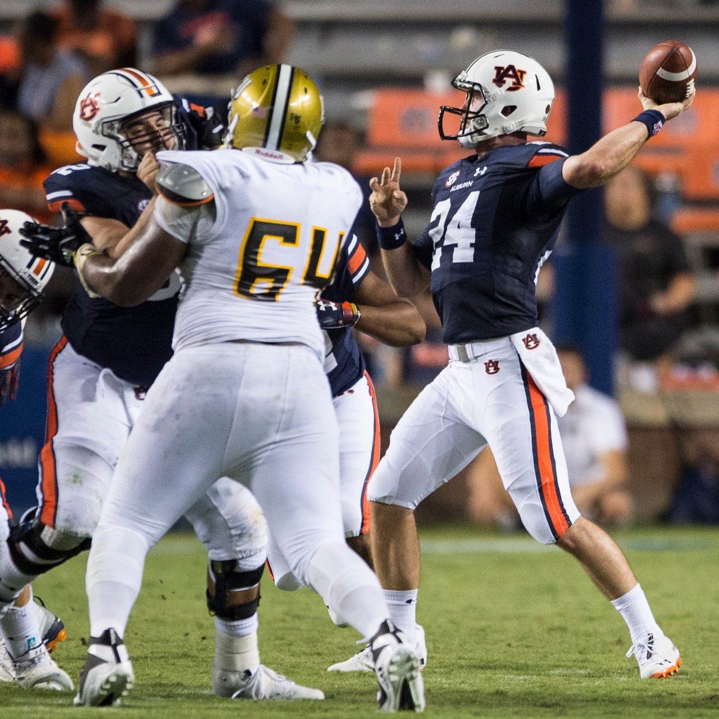 Auburn QB competition: All Cord Sandberg wants is an opportunity