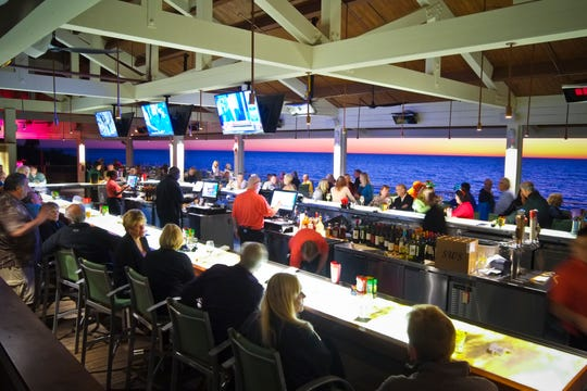 Bartenders set the tone for a great time at Pelican Bay.