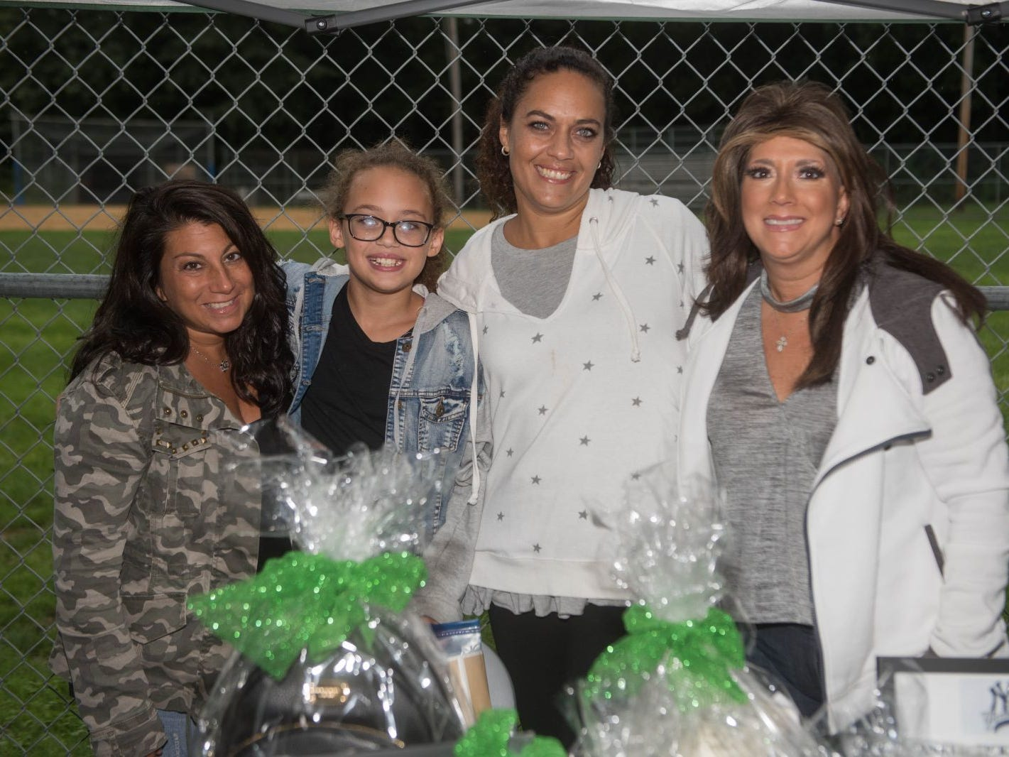 Denise Limone, Lily Kingslow, Vanessa Nienhause and Annamarie Sasso. Mark A. Sasso Memorial Fund hosted its 10th annual Softball Fundraiser this past Saturday at Wagaraw Baseball Field in Hawthorne. Don La Greca was joined by many of his fellow ESPN personalities and celebrity guests to play against the winning ALRC team from the round robin tournament that took place throughout the day. 09/08/2018