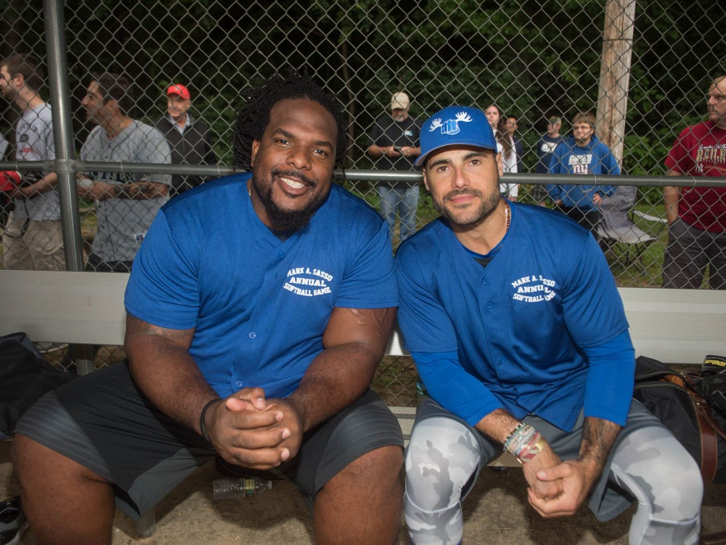 Willie Colon and Rick DiPietro. Mark A. Sasso Memorial Fund hosted its 10th annual Softball Fundraiser this past Saturday at Wagaraw Baseball Field in Hawthorne. Don La Greca was joined by many of his fellow ESPN personalities and celebrity guests to play against the winning ALRC team from the round robin tournament that took place throughout the day. 09/08/2018