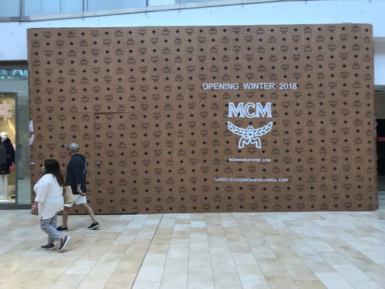 Luxury leather goods and accessories brand MCM is among the retailers opening stores at Westfield Garden State Plaza in Paramus.
