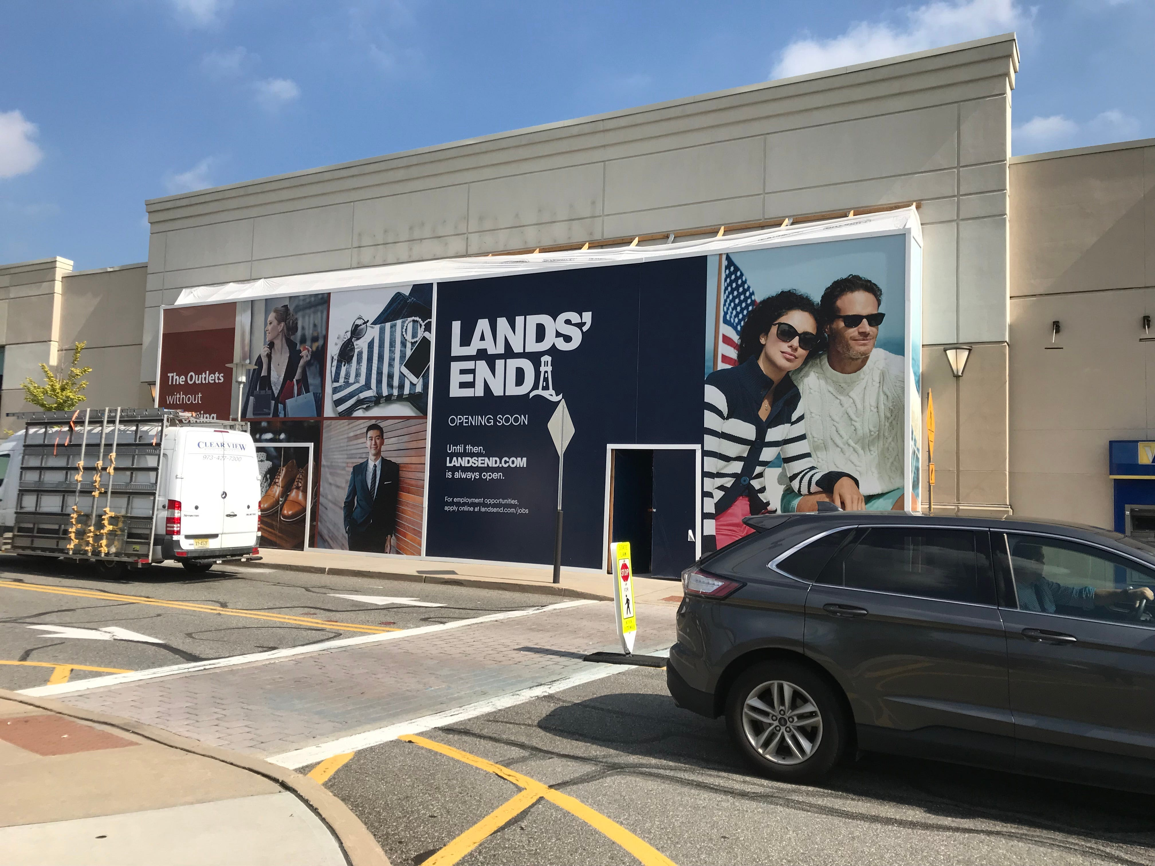 A Lands' End store is coming to Bergen Town Center in Paramus this fall.