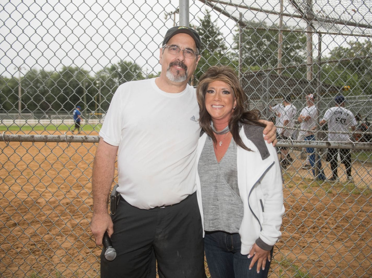 Bob Gonnello and Annamarie Sasso. Mark A. Sasso Memorial Fund hosted its 10th annual Softball Fundraiser this past Saturday at Wagaraw Baseball Field in Hawthorne. Don La Greca was joined by many of his fellow ESPN personalities and celebrity guests to play against the winning ALRC team from the round robin tournament that took place throughout the day. 09/08/2018