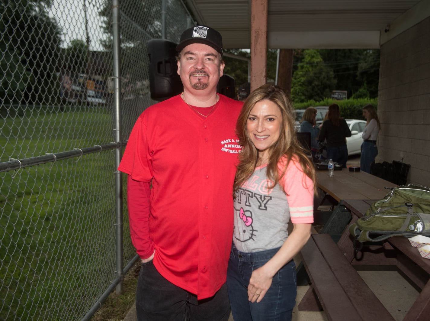 Brian O'Halloran and Diana Devlin. Mark A. Sasso Memorial Fund hosted its 10th annual Softball Fundraiser this past Saturday at Wagaraw Baseball Field in Hawthorne. Don La Greca was joined by many of his fellow ESPN personalities and celebrity guests to play against the winning ALRC team from the round robin tournament that took place throughout the day. 09/08/2018