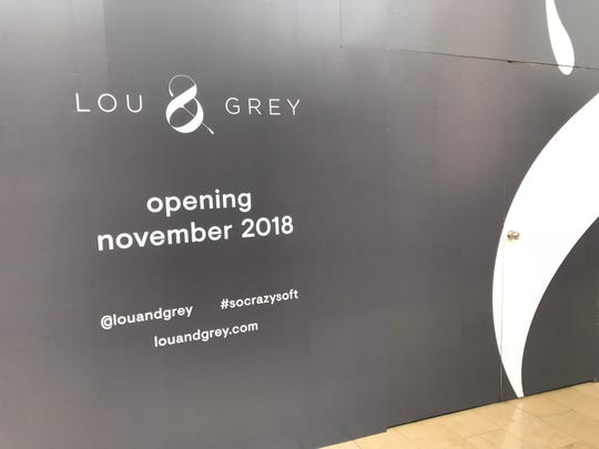 Lou & Grey is a new leisure and activewear brand from Ann Taylor. It will open at Garden State Plaza in Paramus this fall.