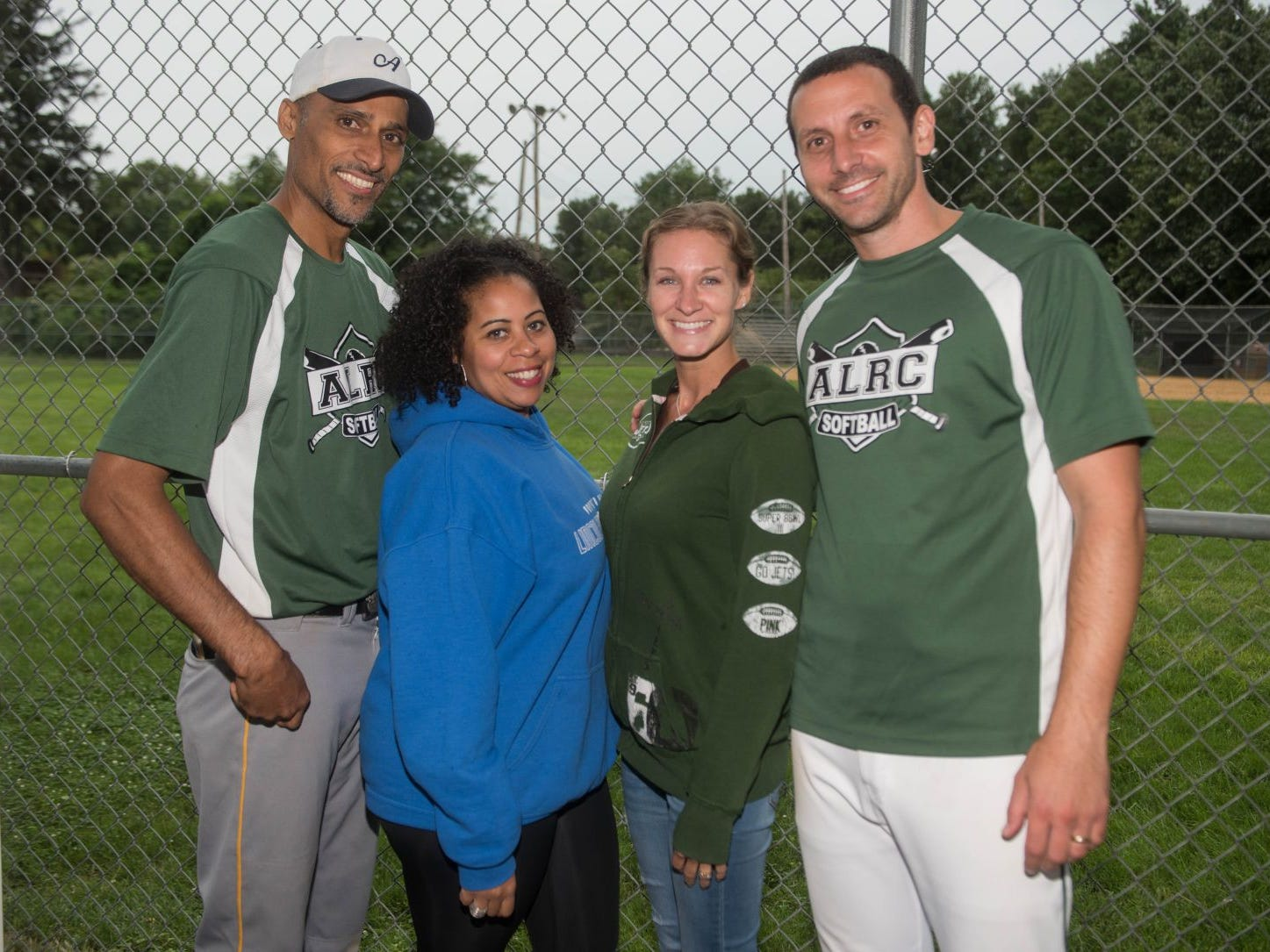 Yrby Gonzalez, Lissette Gonzalez, Alison Botbyl and Scott Botbyl. Mark A. Sasso Memorial Fund hosted its 10th annual Softball Fundraiser this past Saturday at Wagaraw Baseball Field in Hawthorne. Don La Greca was joined by many of his fellow ESPN personalities and celebrity guests to play against the winning ALRC team from the round robin tournament that took place throughout the day. 09/08/2018
