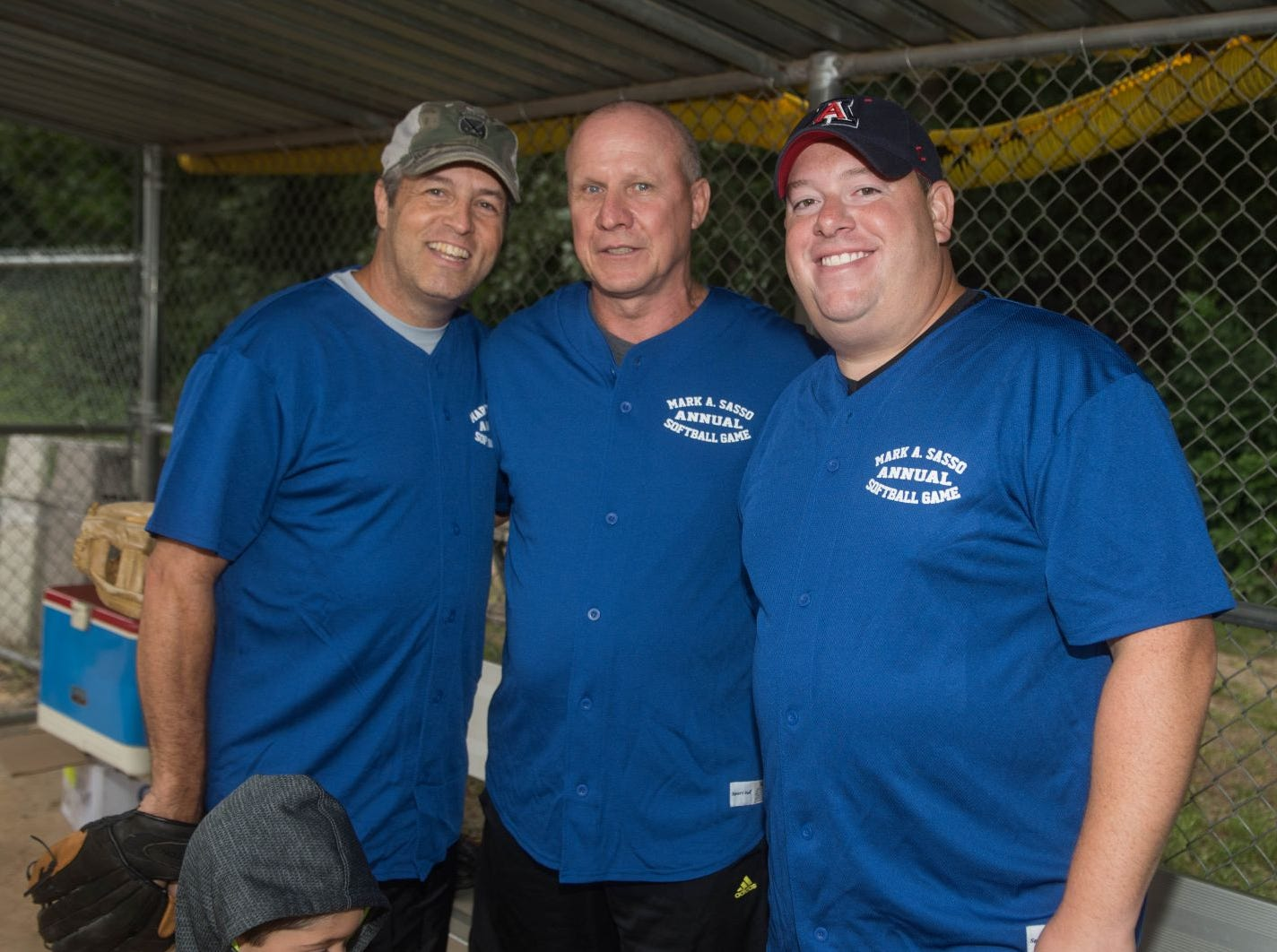 John Giannone, Brian Mullen and Dan Rosen. Mark A. Sasso Memorial Fund hosted its 10th annual Softball Fundraiser this past Saturday at Wagaraw Baseball Field in Hawthorne. Don La Greca was joined by many of his fellow ESPN personalities and celebrity guests to play against the winning ALRC team from the round robin tournament that took place throughout the day. 09/08/2018