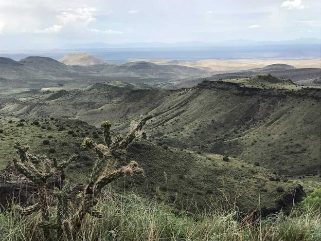 A Panoramic Peaks Tour on Sunday, Sept. 16, will take hikers atop the Sierra de las Uvas, via the Rustler Trail, where they can see all the mountain ranges within Organ Mountains-Desert Peaks National Monument.