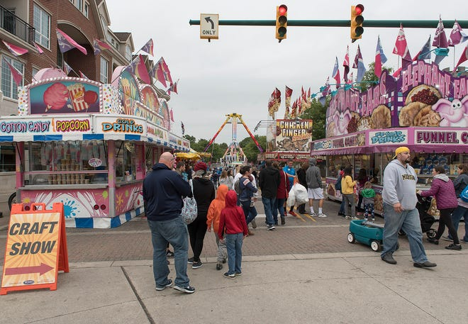 Plymouth's popular Fall Festival was canceled for 2020 due to concerns regarding the spread of the coronavirus pandemic.