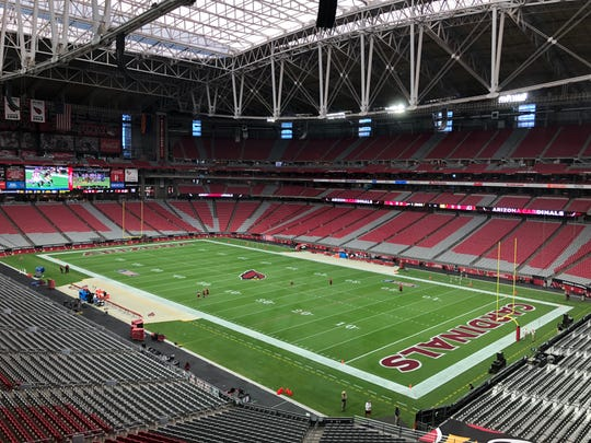 State Farm Stadium could potentially be a very busy venue for NFL games in 2020.