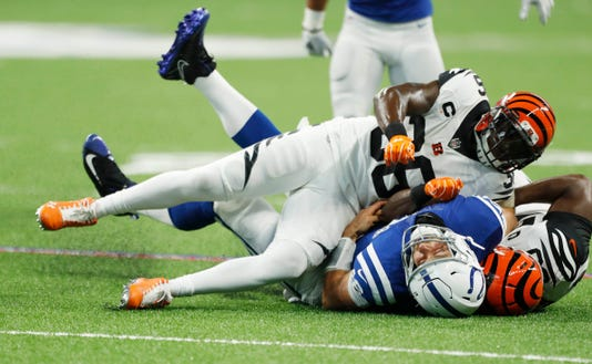 Nfl Cincinnati Bengals At Indianapolis Colts
