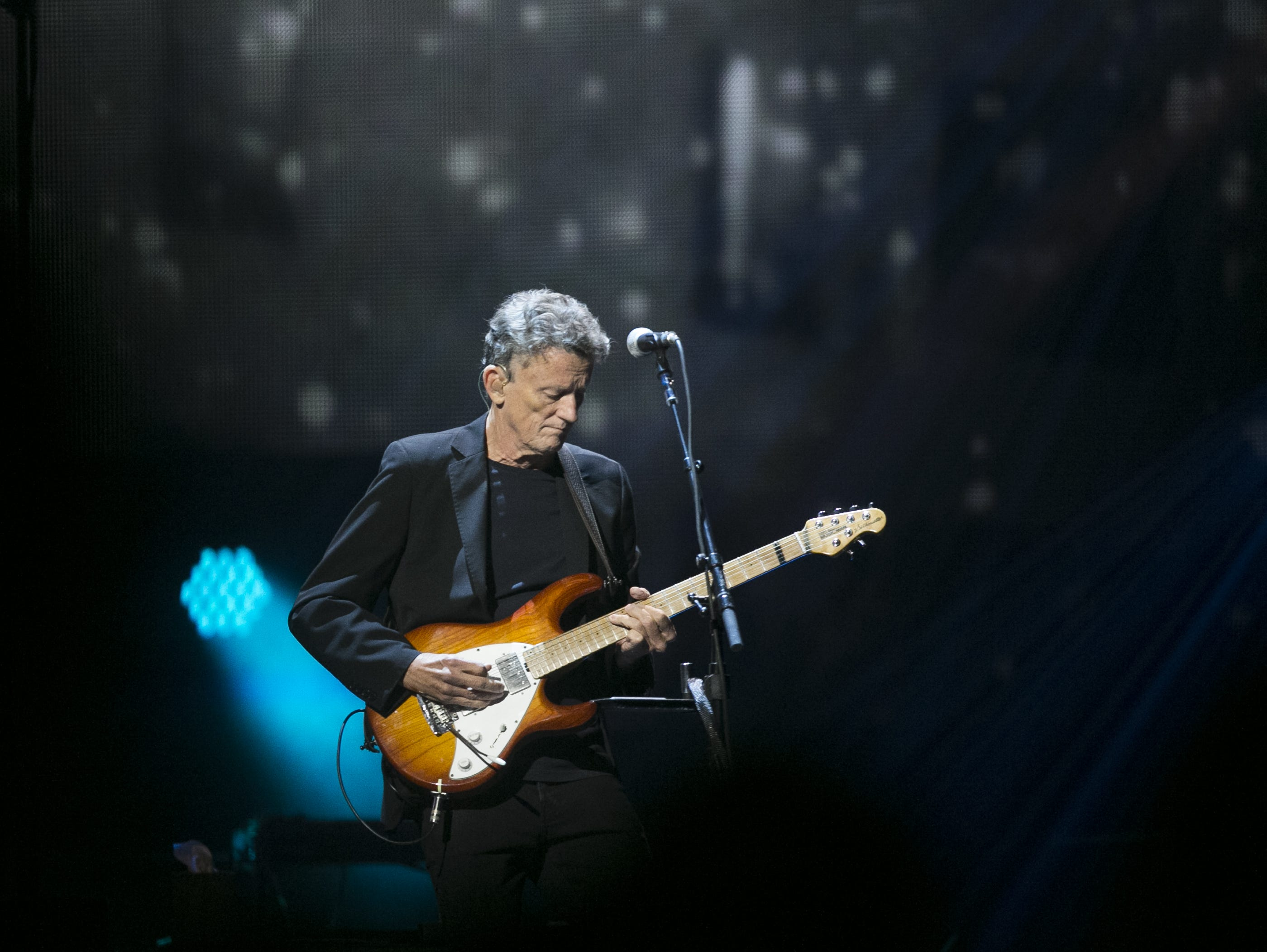 Steuart Smith performs with the Eagles perform at Talking Stick Resort Arena in Phoenix on Sat. Sep. 8, 2018.