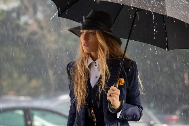 "In ""A Simple Favor,"" Emily (Blake Lively) is a woman who keeps secrets."