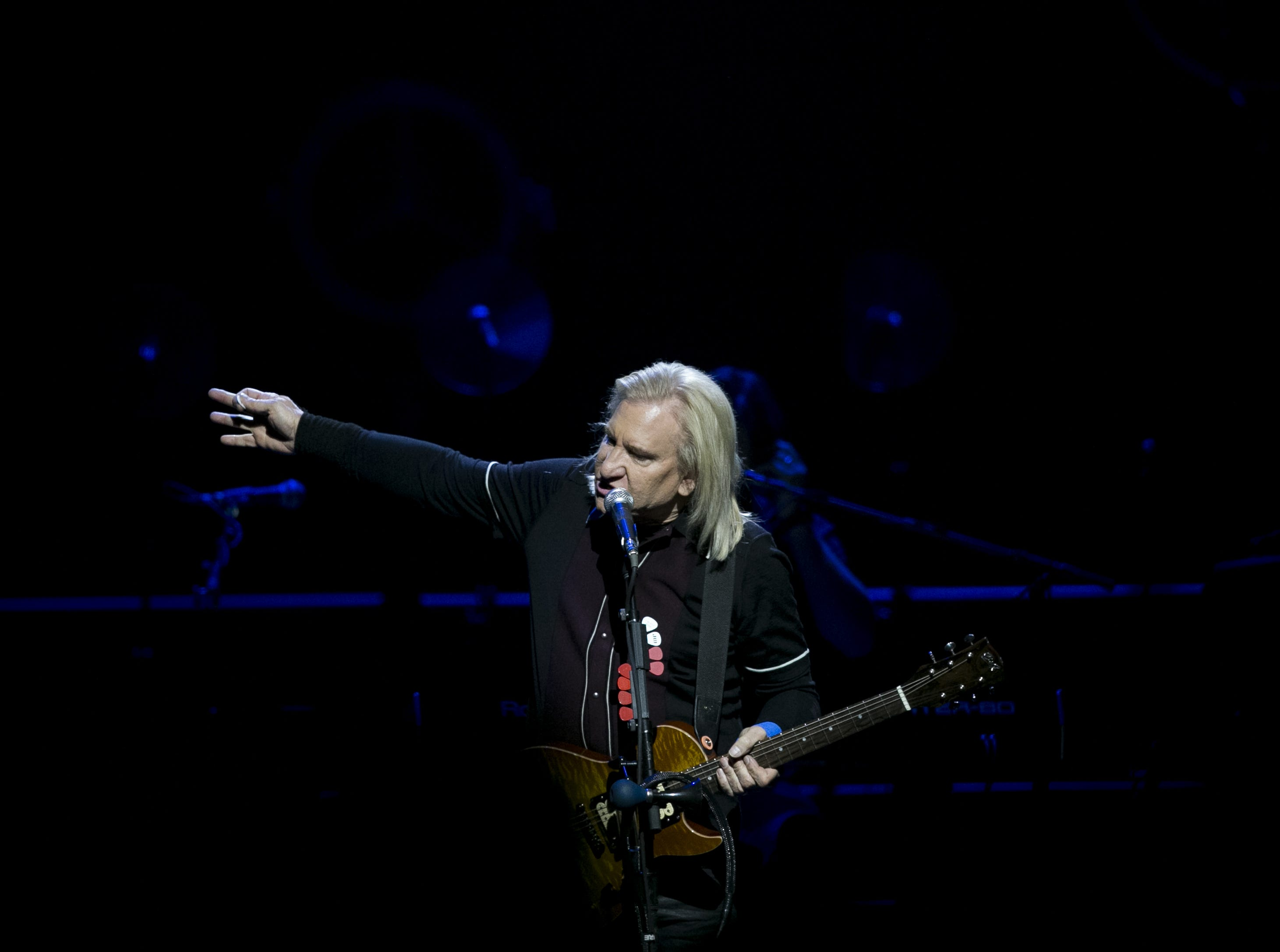 Joe Walsh performs with the Eagles at Talking Stick Resort Arena in Phoenix on Sat. Sep. 8, 2018.