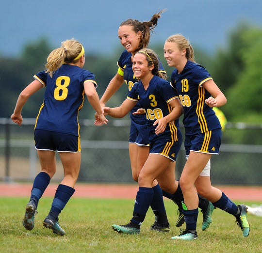 The Elco girls soccer team has enjoyed an unbeaten regular season and is headed for the top seed in the upcoming District 3 2A playoffs.