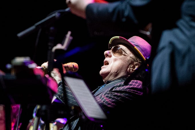 Van Morrison performs at Hersheypark Stadium, Saturday, September 8, 2018. The Outlaw Country Music Festival also had performers Willie Nelson & Family, Tedeschi Trucks Band, Sturgill Simpson, Lukas Nelson and Promise of the Real and Particle Kid.
