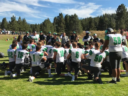 Fallon beat Truckee, 32-29, on Saturday in Truckee.