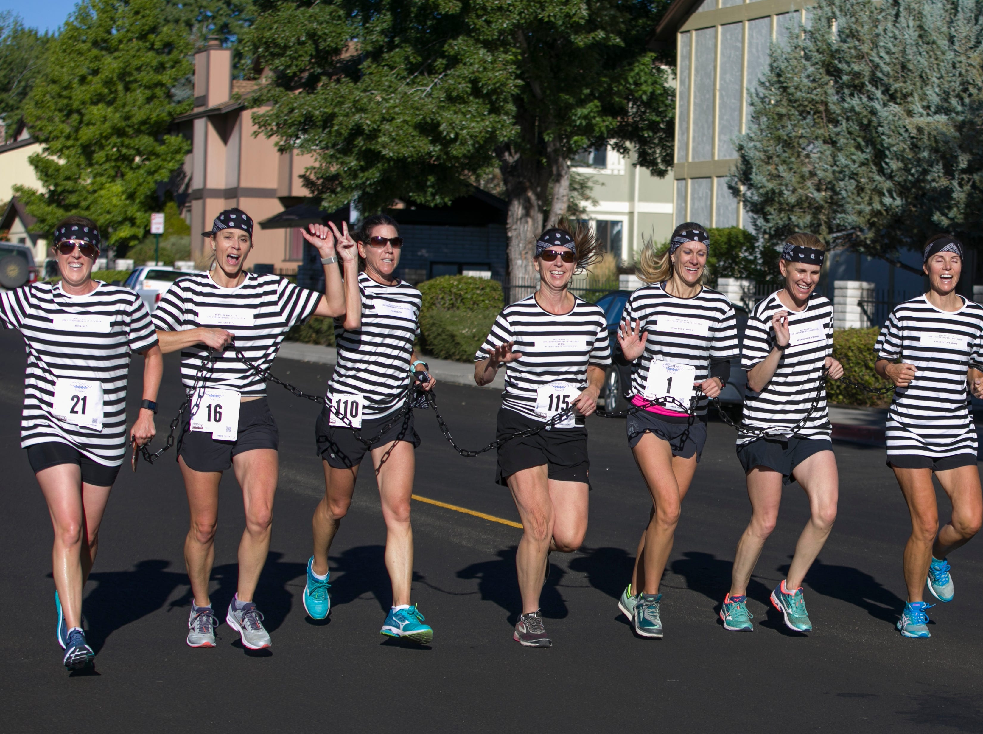 The 5:20 on the Run team during the 50th Annual Journal Jog in Reno, Nevada on Sunday, September 9, 2018.