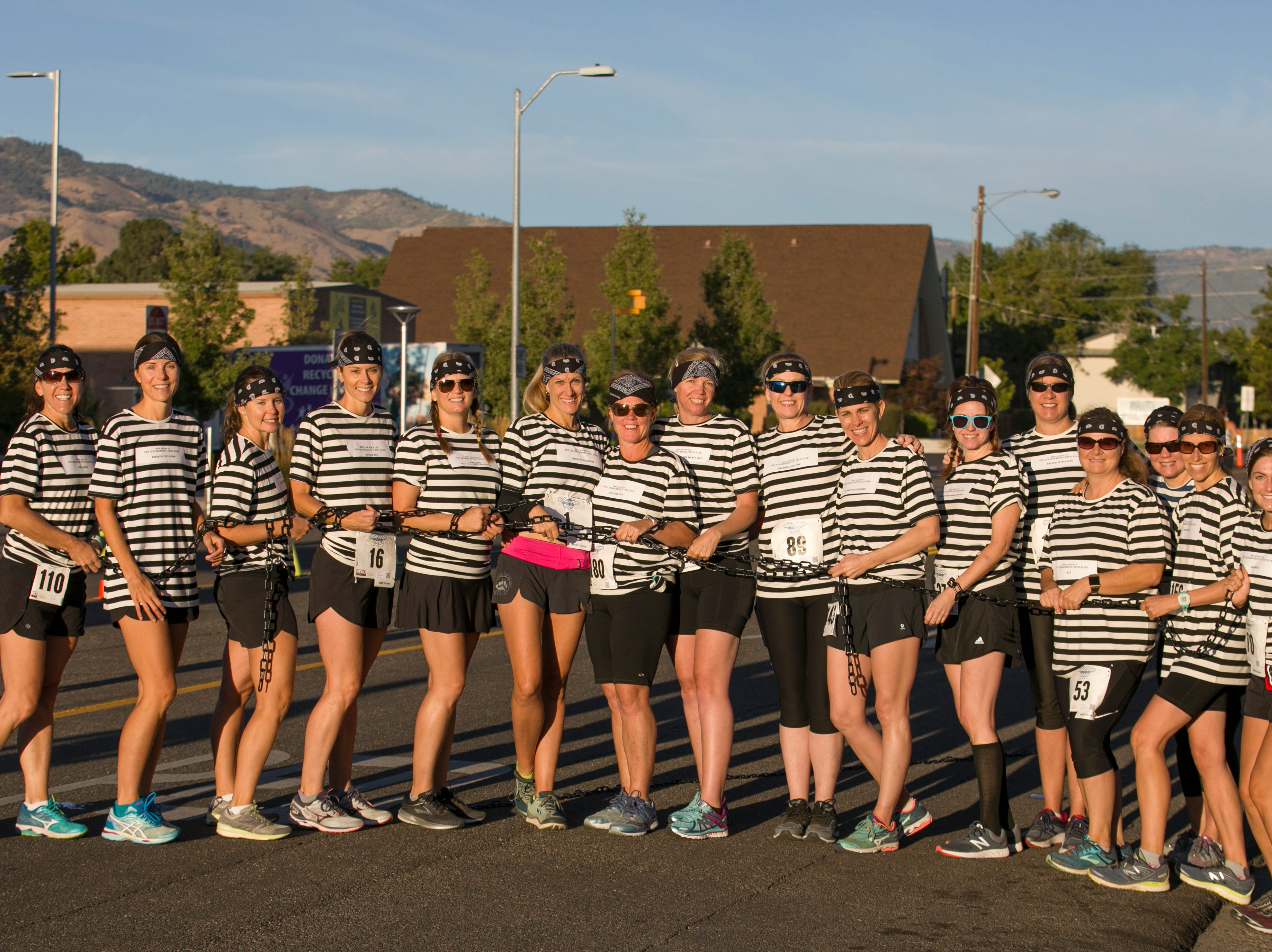 The 5:20 on the Run team before the 50th Annual Journal Jog in Reno, Nevada on Sunday, September 9, 2018.