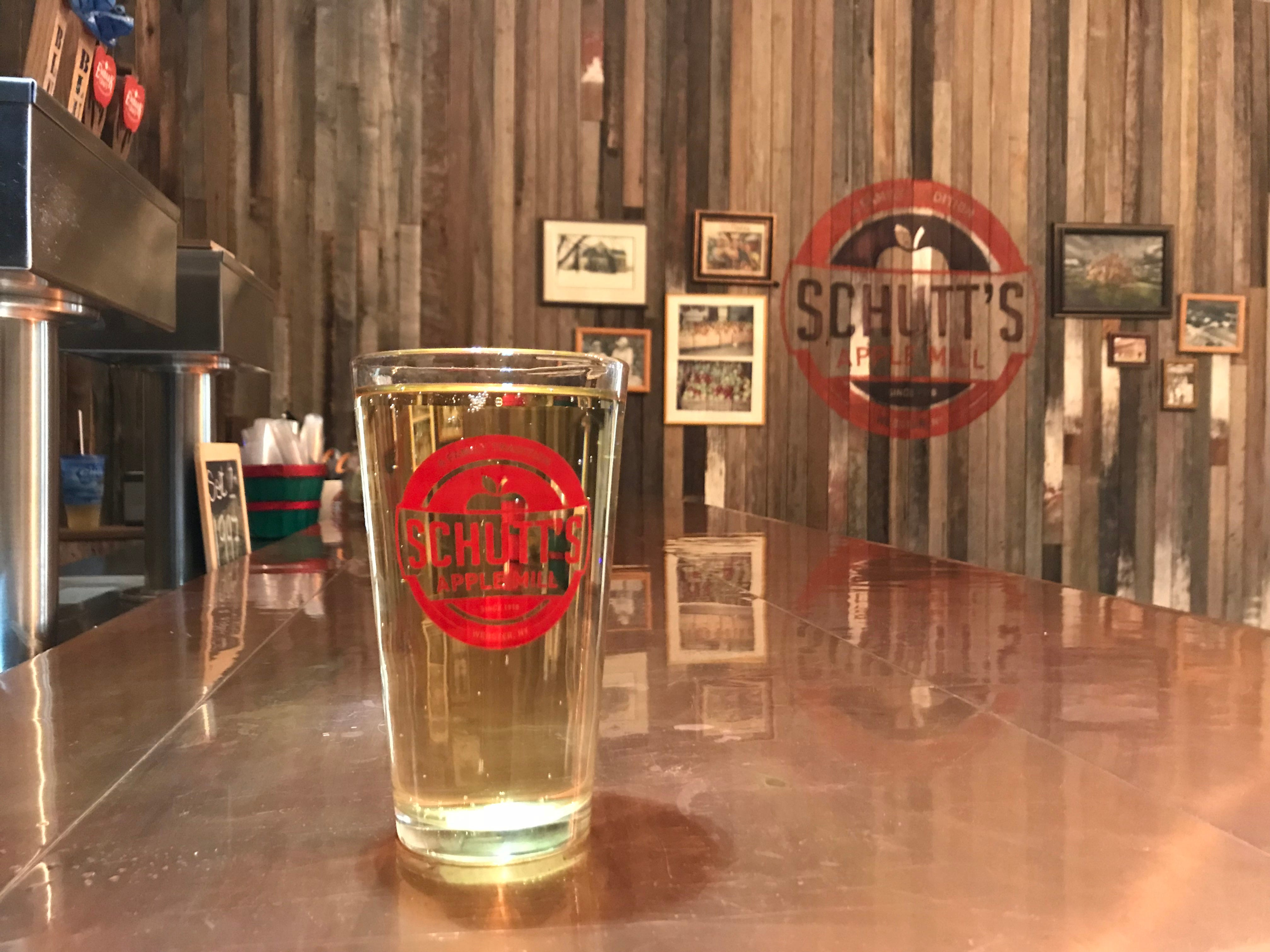 The expansion of Schutt's Apple Mill includes a tasting room for hard cider.