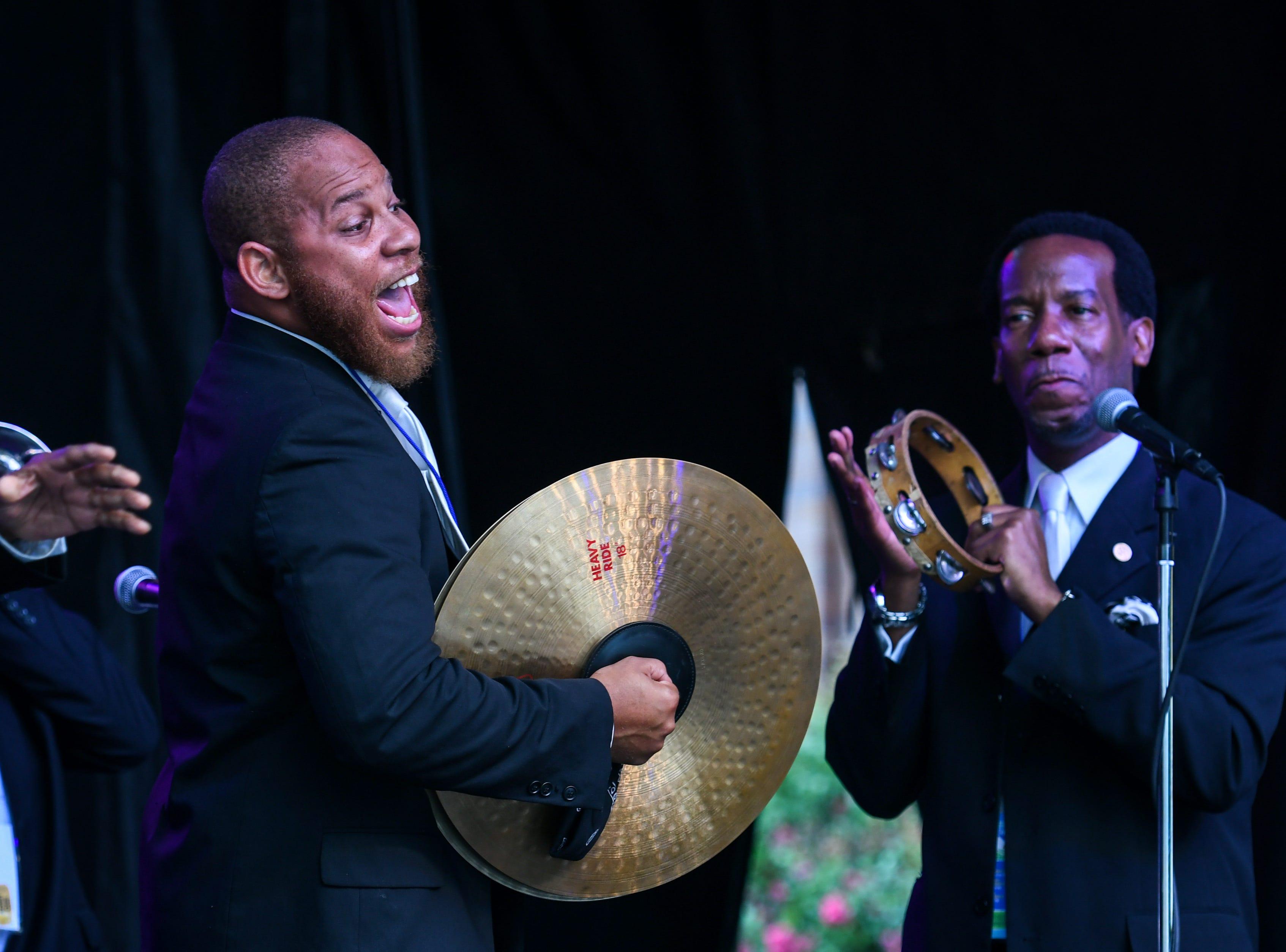 Mangum & Company perform at the National Folk Festival in Salisbury on Sunday, Sept. 9.