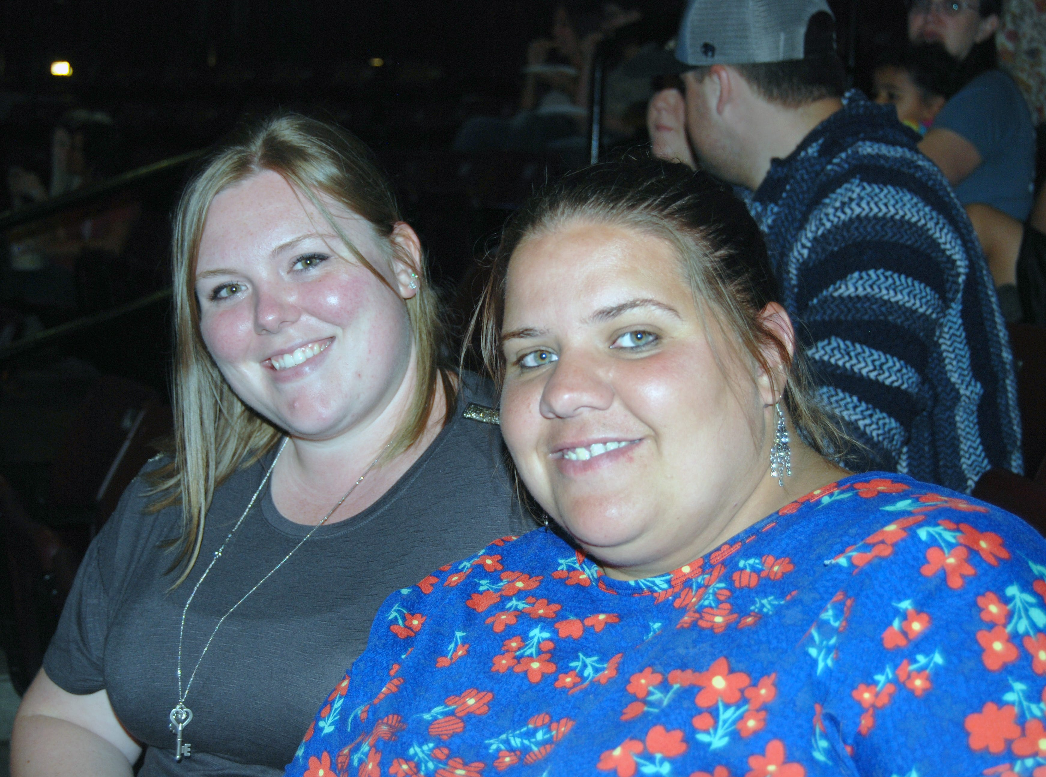 Erica Robertson and Lydia Austin