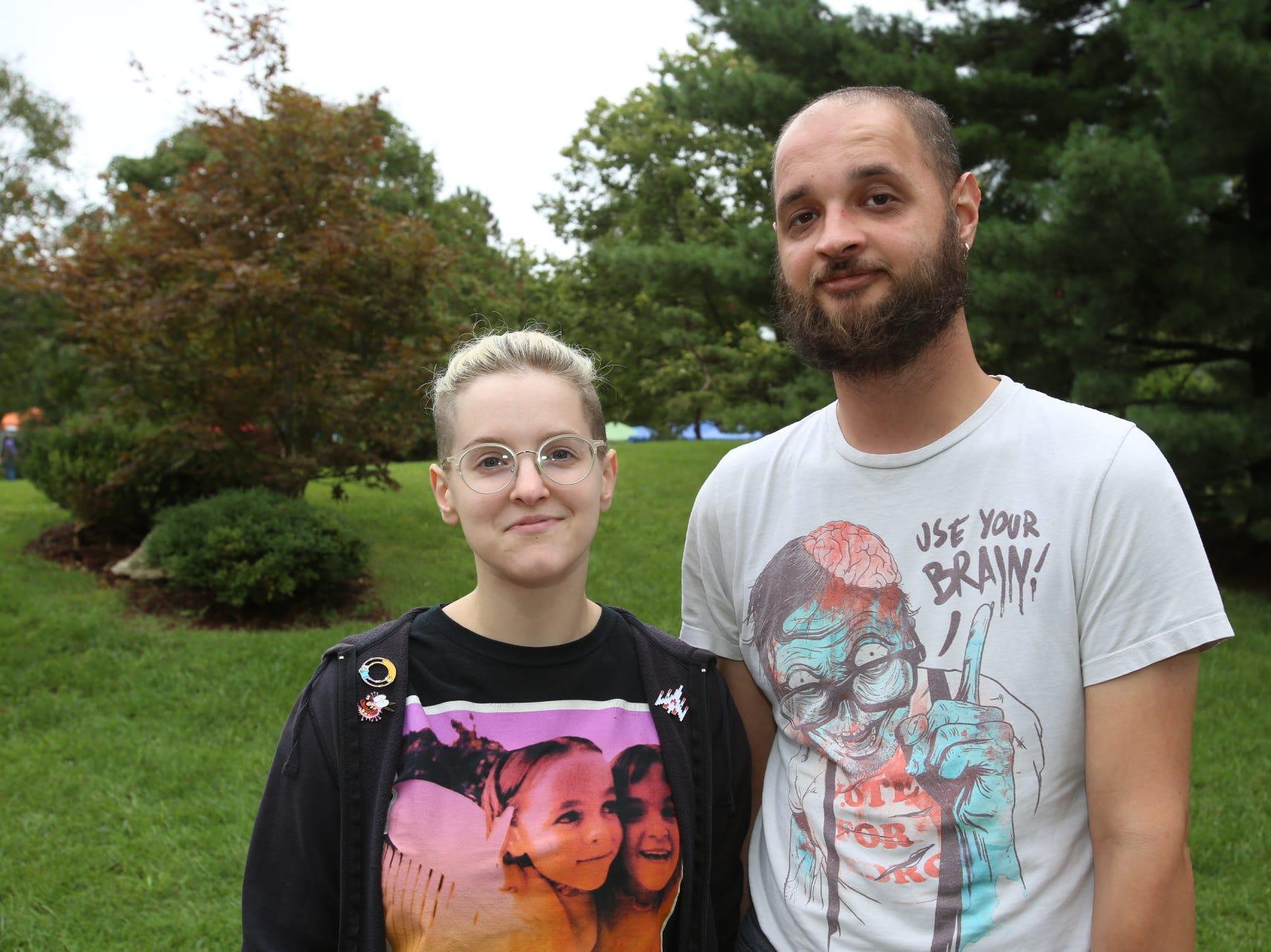 Amara Pendergoaft and Alex Breshears