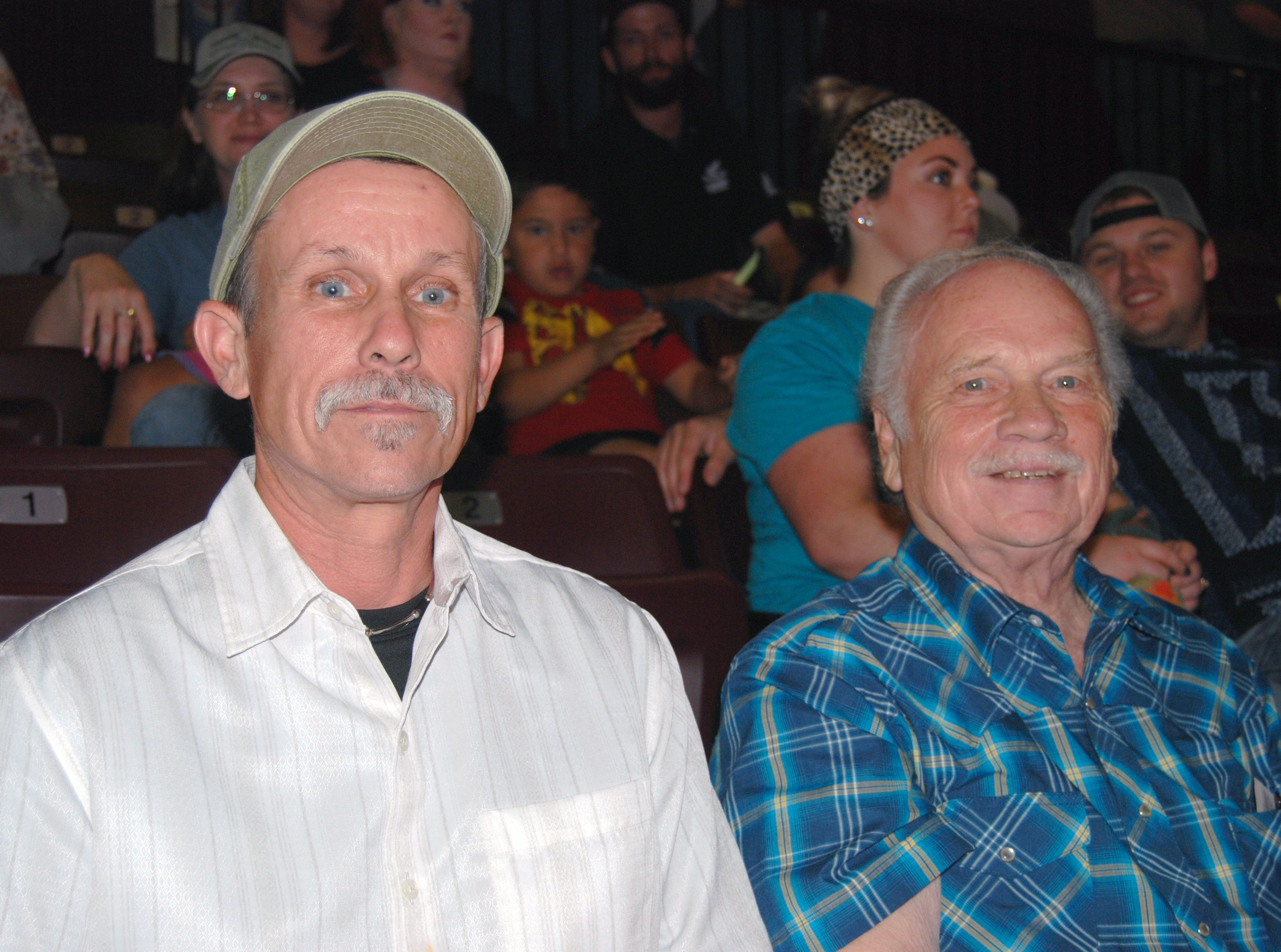 Jerry and Jim Spackman