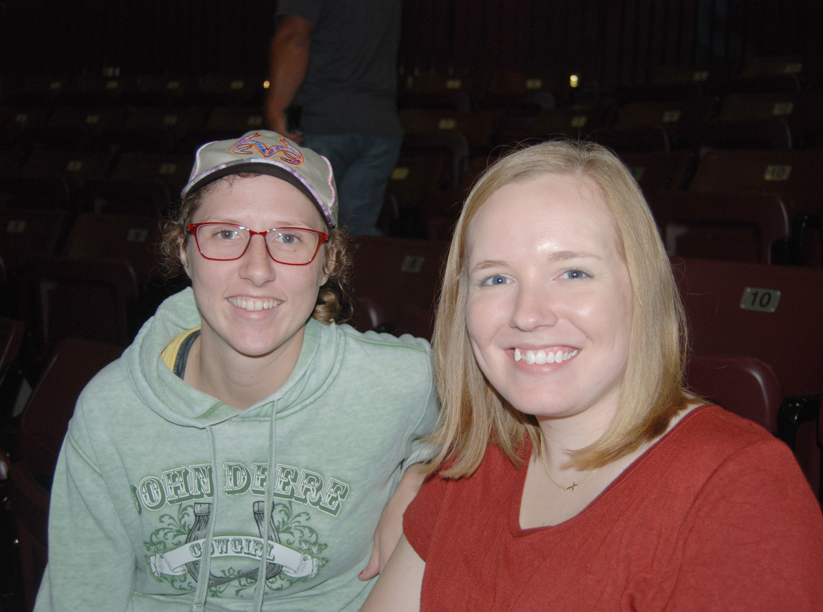 Michaela Moore and Jennifer Allison