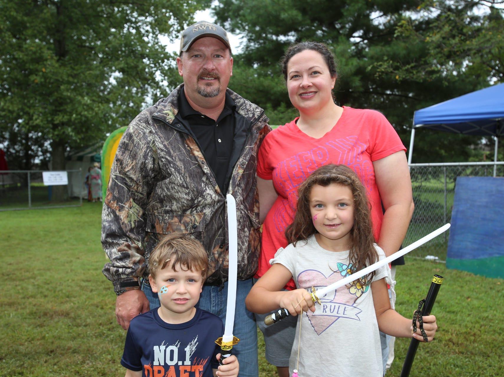 Ben, Casey, Will, and Grace Kellner