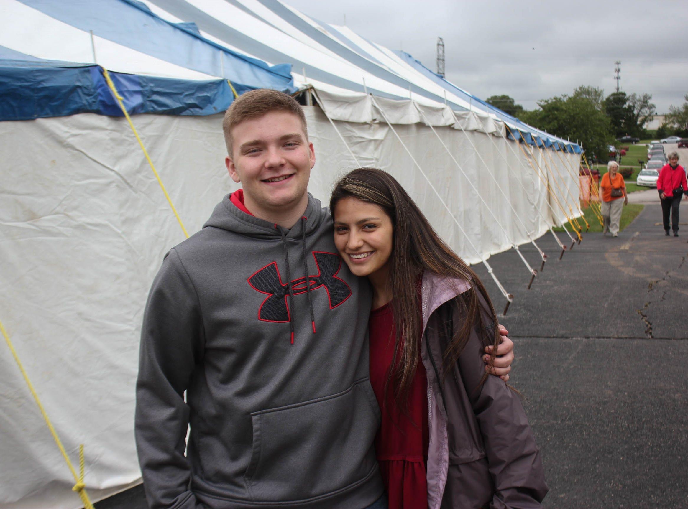 Hayden James and Ana Tores