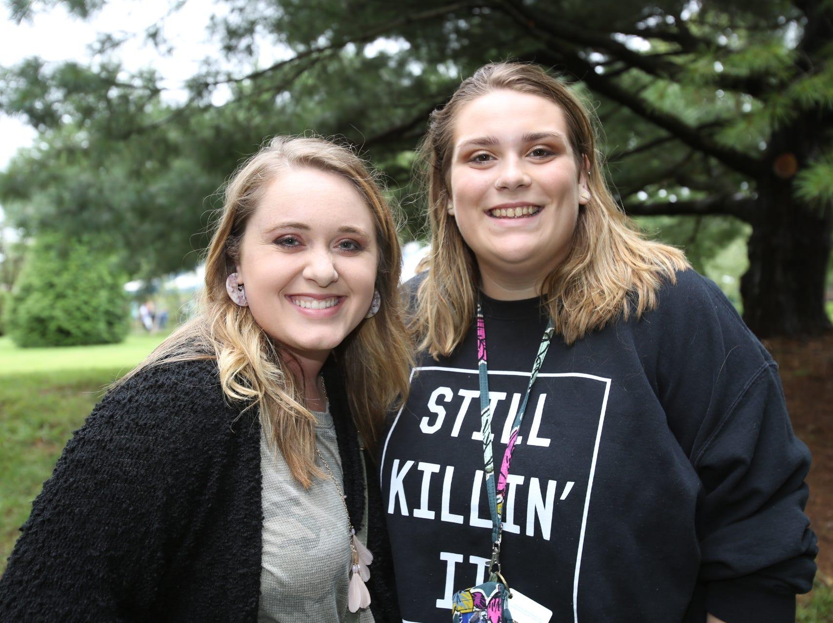 Kayla Penner and Maggie Barnett