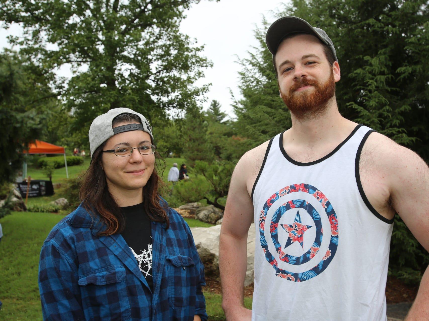 Arianna Ponder and Connor Peak