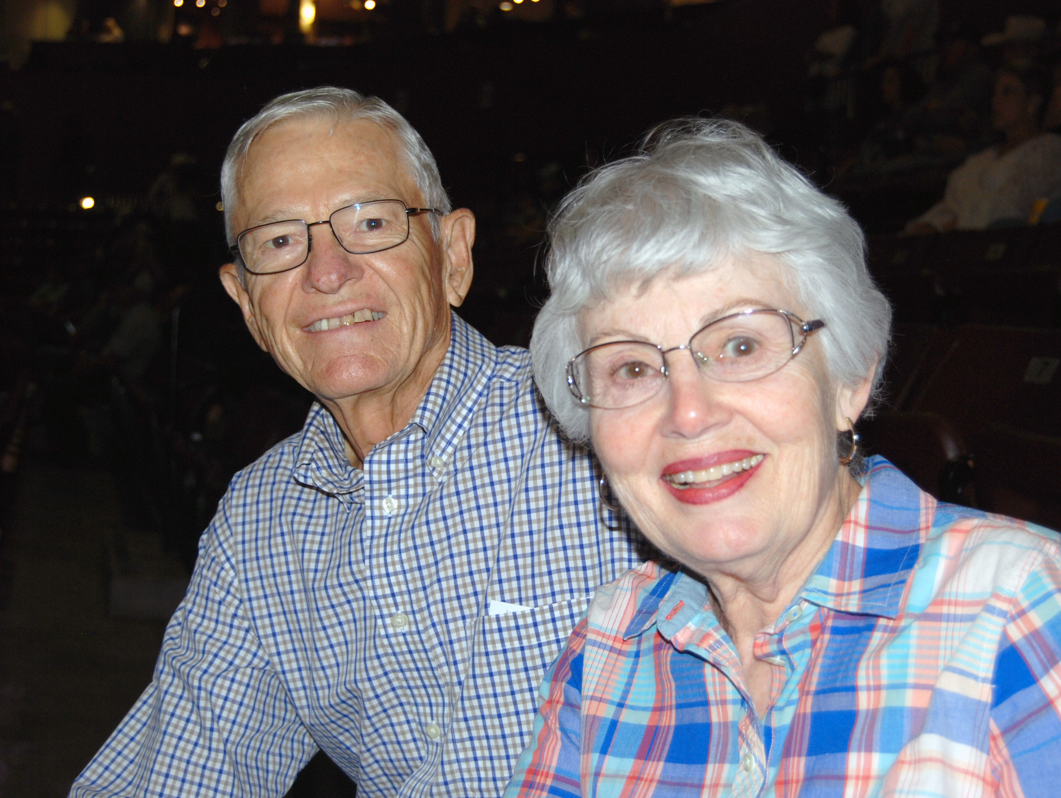 Mel and Nancy Sayer