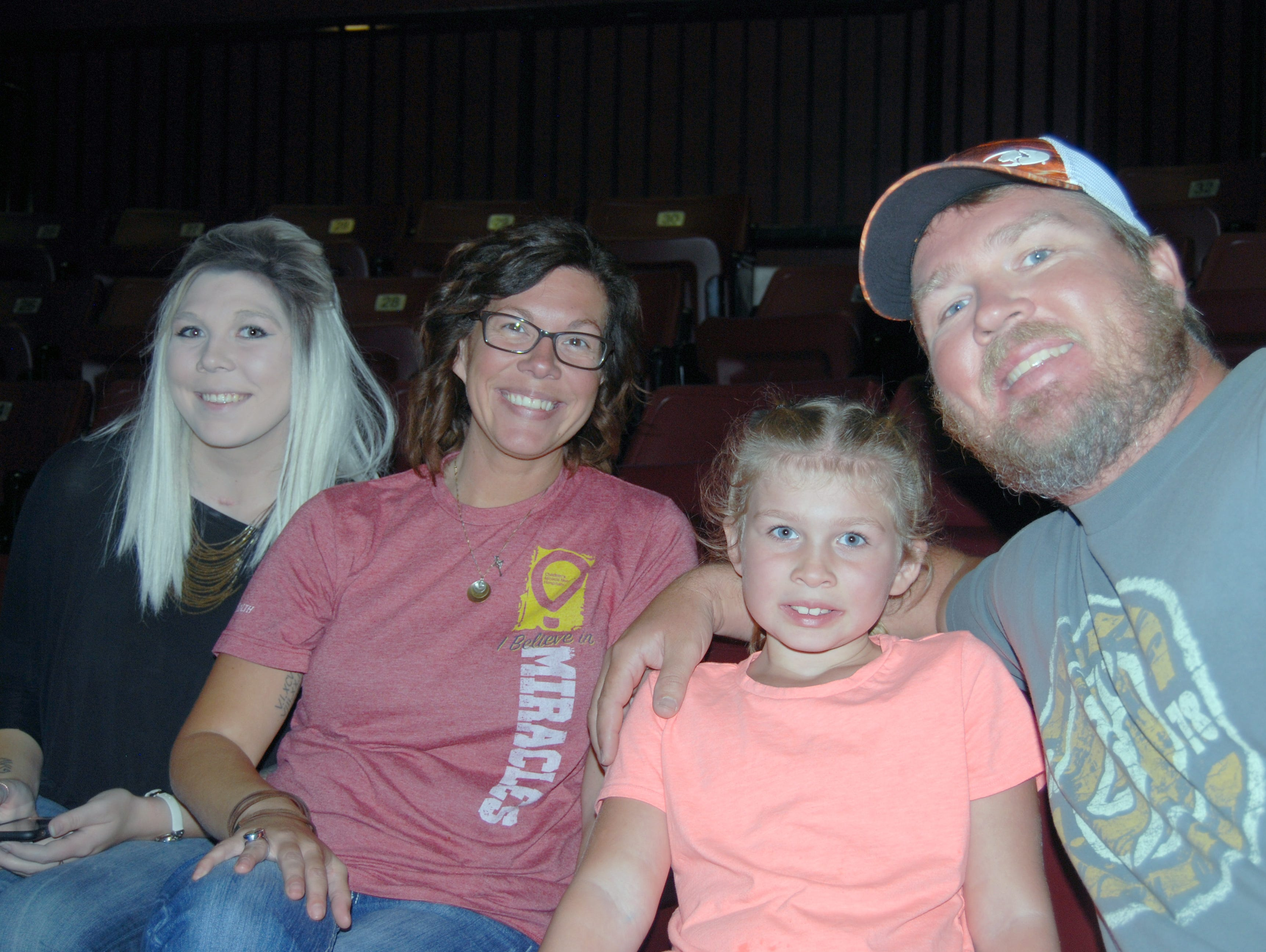 Keiana, Michelle, Kryn and Todd Guenther
