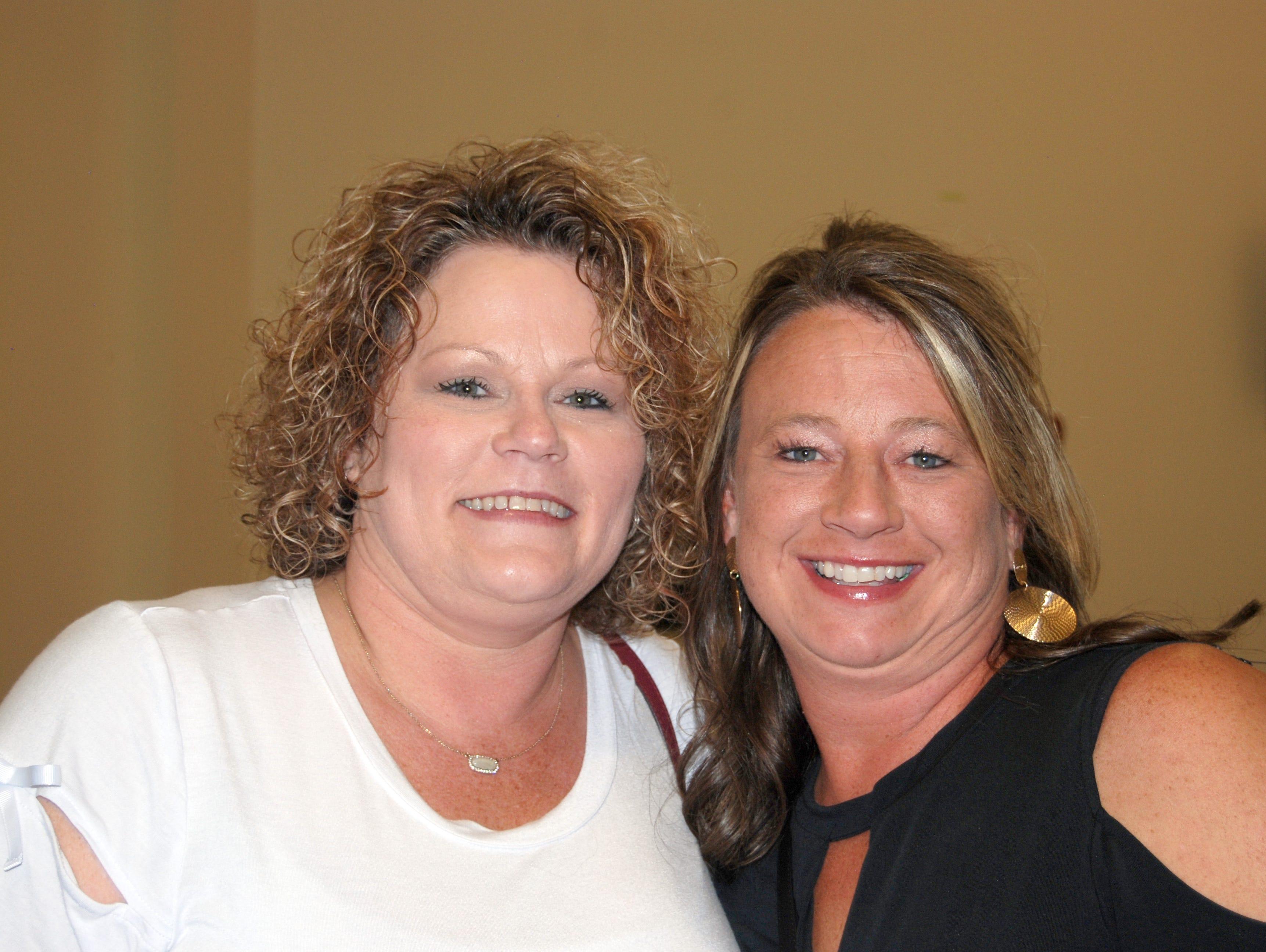 Kelly Jenkins and Cheryl Carlile