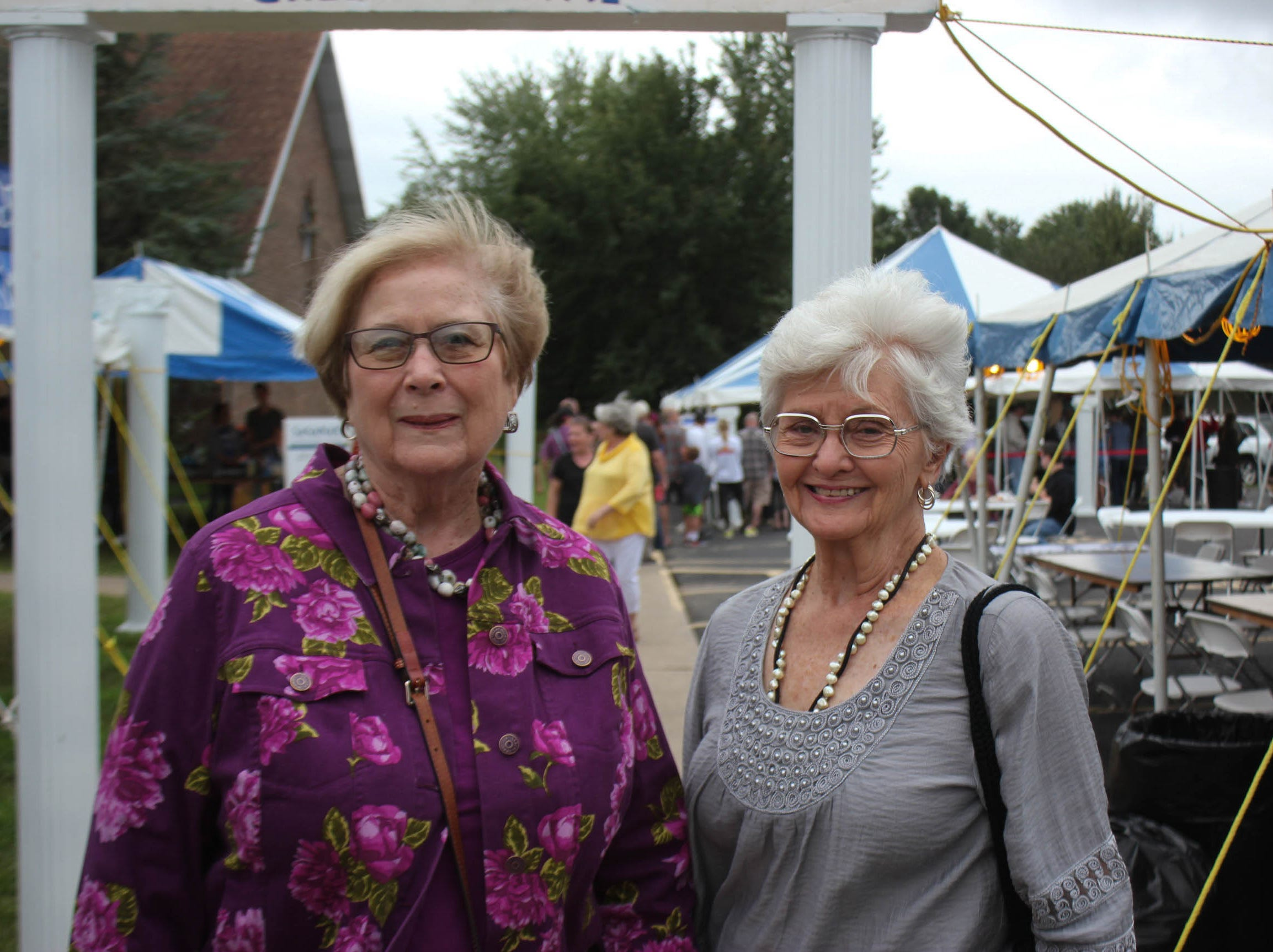 Beverly Sauer and Betty Lewis