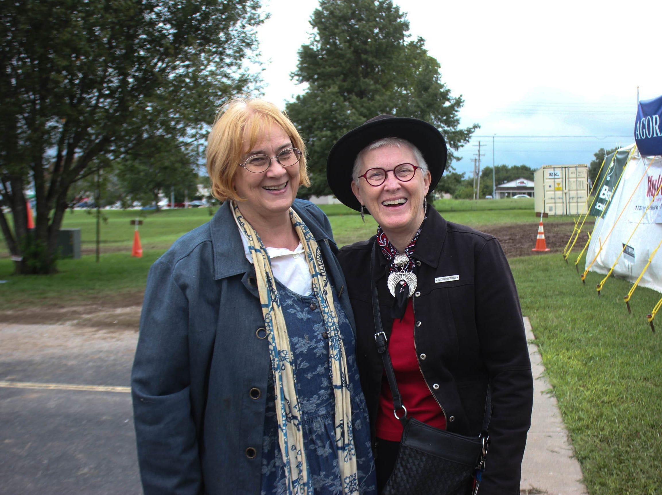 Cynthia Moore and Stephanie Smock