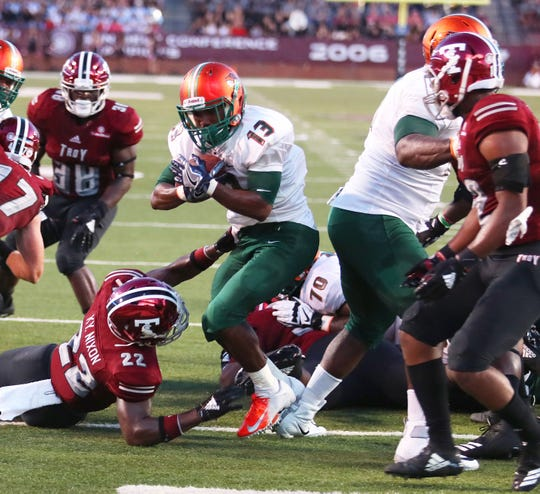 Bishop Bonnett scored FAMU's lone touchdown in the loss at Troy.