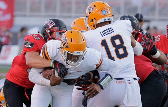 The Miners came up short against UNLV on Saturday in Las Vegas.