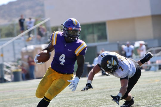 Running back Chris Anderson led the Cal Lutheran football team with 87 yards on 15 carries in Saturday's season-opening 24-8 win over visiting Pacific Lutheran University at Rolland Stadium.