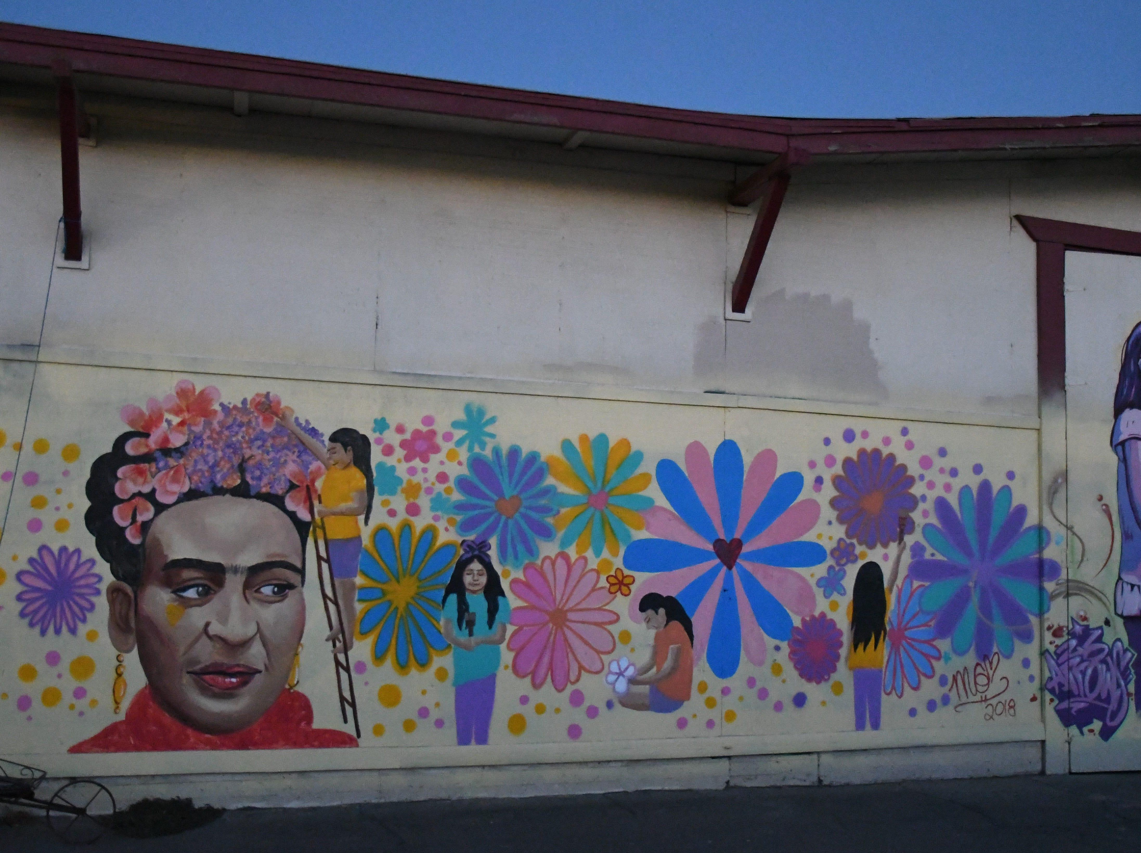 Frida Kahlo graces The Old Lumberyard