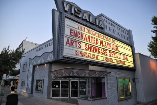 The Main Street Theatre was home to the Enchanted Playhouse until the City of Visalia sold the venue to a local developer who intends to build two restaurants in the space.