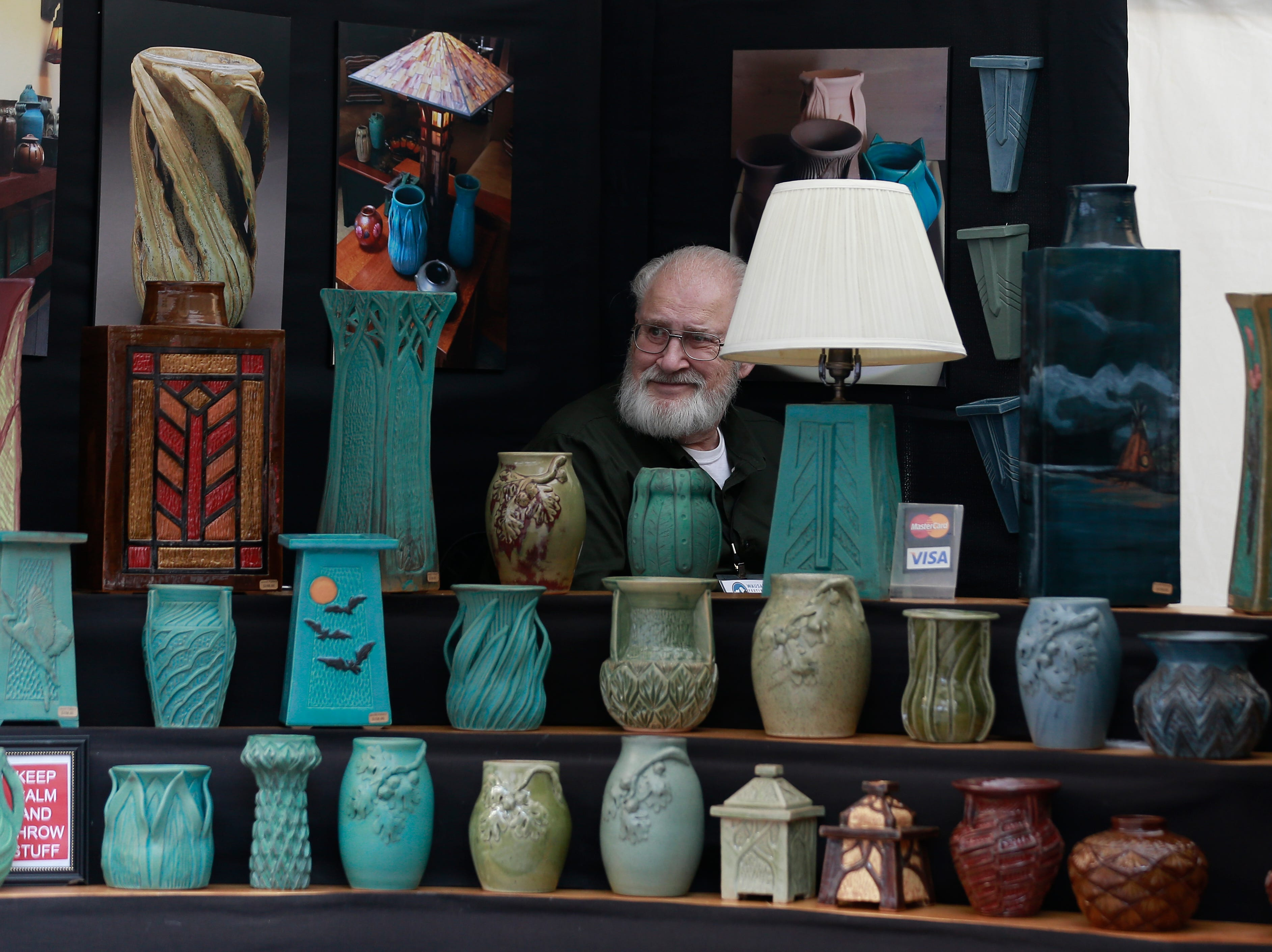 Wausau Festival of Arts held its 2018 event Saturday, Sept. 8, 2018, in downtown Wausau, Wis. T'xer Zhon Kha/USA TODAY NETWORK-Wisconsin
