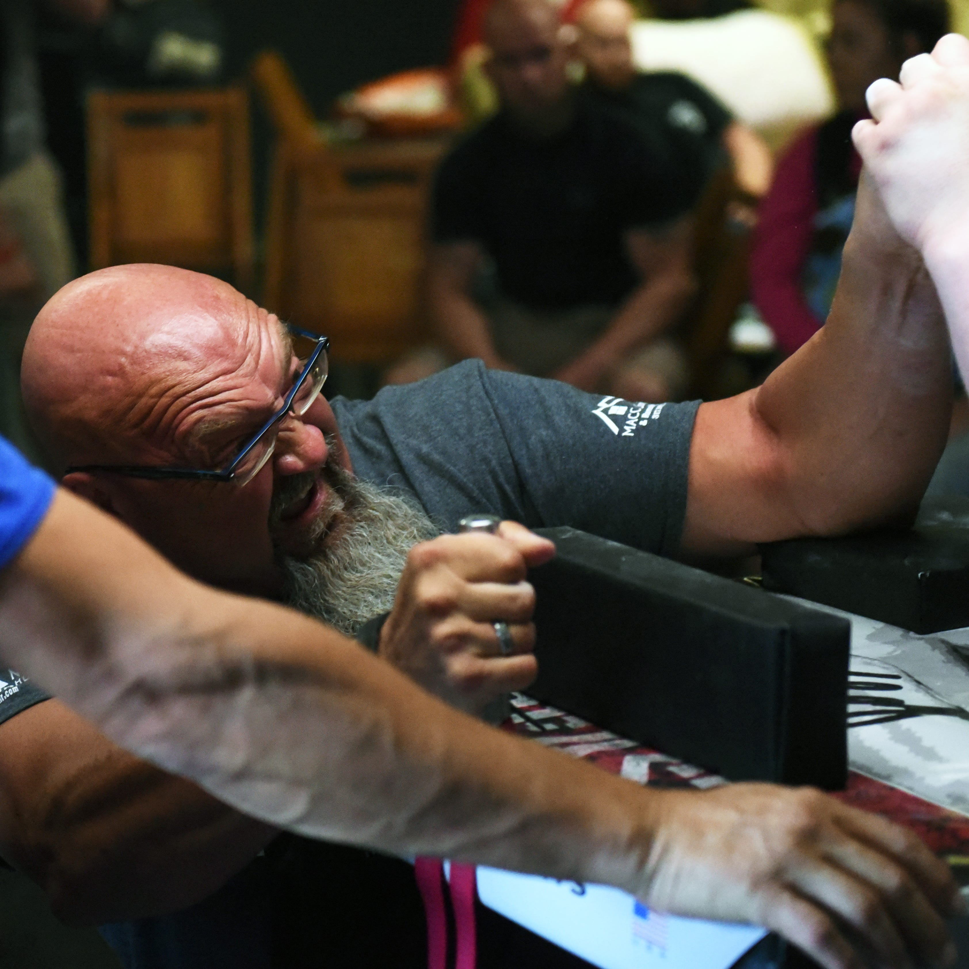 Arm wrestling coming to Angry Bull