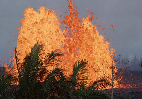 """Lava erupts in a once-tranquil part of Hawaii in """"Volcanoes."""""""