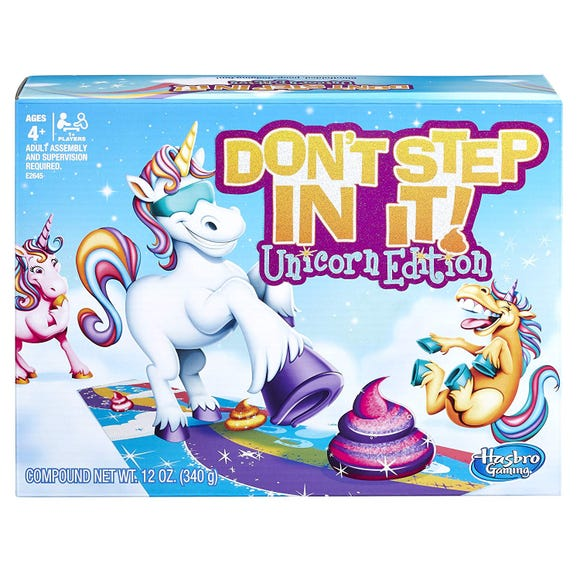 Don't Step on It, Unicorn Edition
