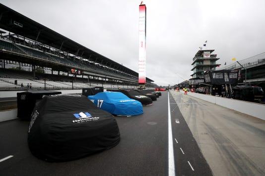 9-9-18 NASCAR Brickyard rain