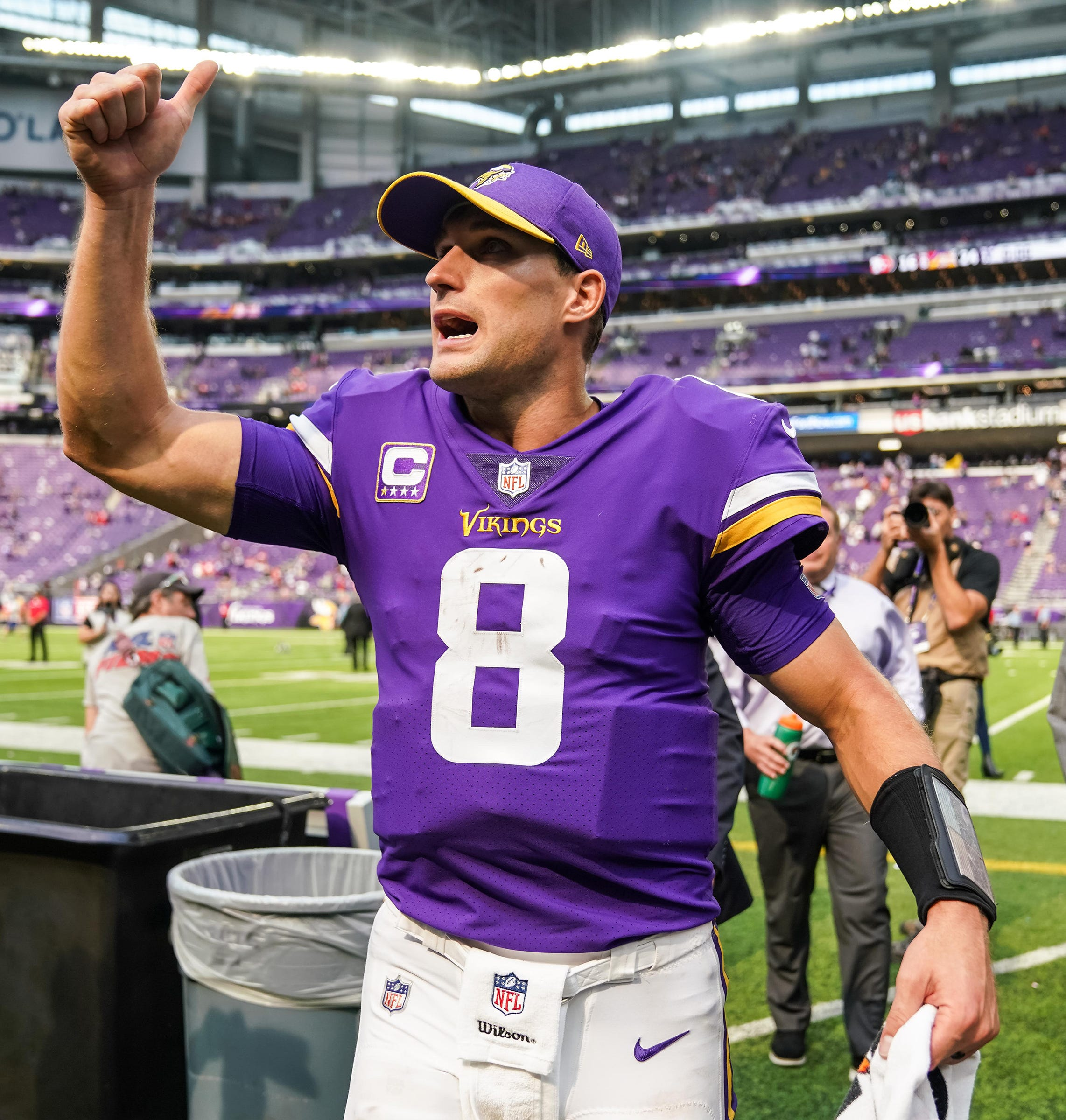 Nfl San Francisco 49ers At Minnesota Vikings